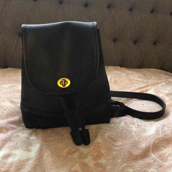 ddb0a6c78a Coach Handbags - Coach 9960 Vintage Leather Backpack
